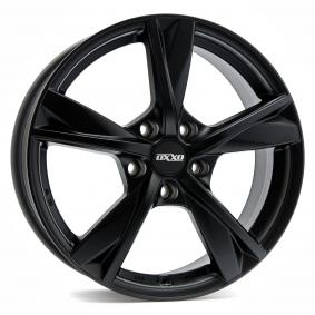 alloy wheel OXXO MIMAS MattSchwarz / Poliert 18 inches 5x114 PCD ET46 OX12-751846-N4-53