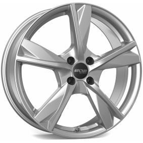 alloy wheel OXXO MIMAS brilliant silver painted 18 inches 5x114 PCD ET46 OX12-751846-N4-07