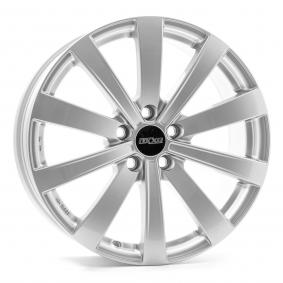alloy wheel OXXO SENTINEL brilliant silver painted 18 inches 5x112 PCD ET43 OX15-801843-D6-07