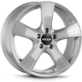 alloy wheel OXXO PROTEUS brilliant silver painted 18 inches 5x112 PCD ET45 OX06-801845-DB-07