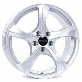 alloy wheel OXXO BESTLA brilliant silver painted 19 inches 5x120 PCD ET32 OX02-901932-B1-07