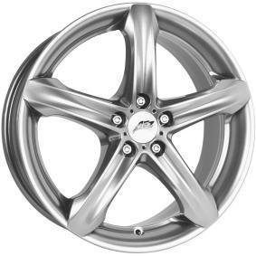 alloy wheel AEZ Yacht high gloss 16 inches 5x114.3 PCD ET48 AYAP0HA48