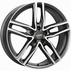 alloy wheel ALUTEC Ikenu hyper silber schwarz Horn poliert 16 inches 5x112 PCD ET41 IKE65641V22-6