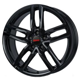 alloy wheel ALUTEC Ikenu hyper silber schwarz Horn poliert 17 inches 4x98 PCD ET38 IKE65738F42-6