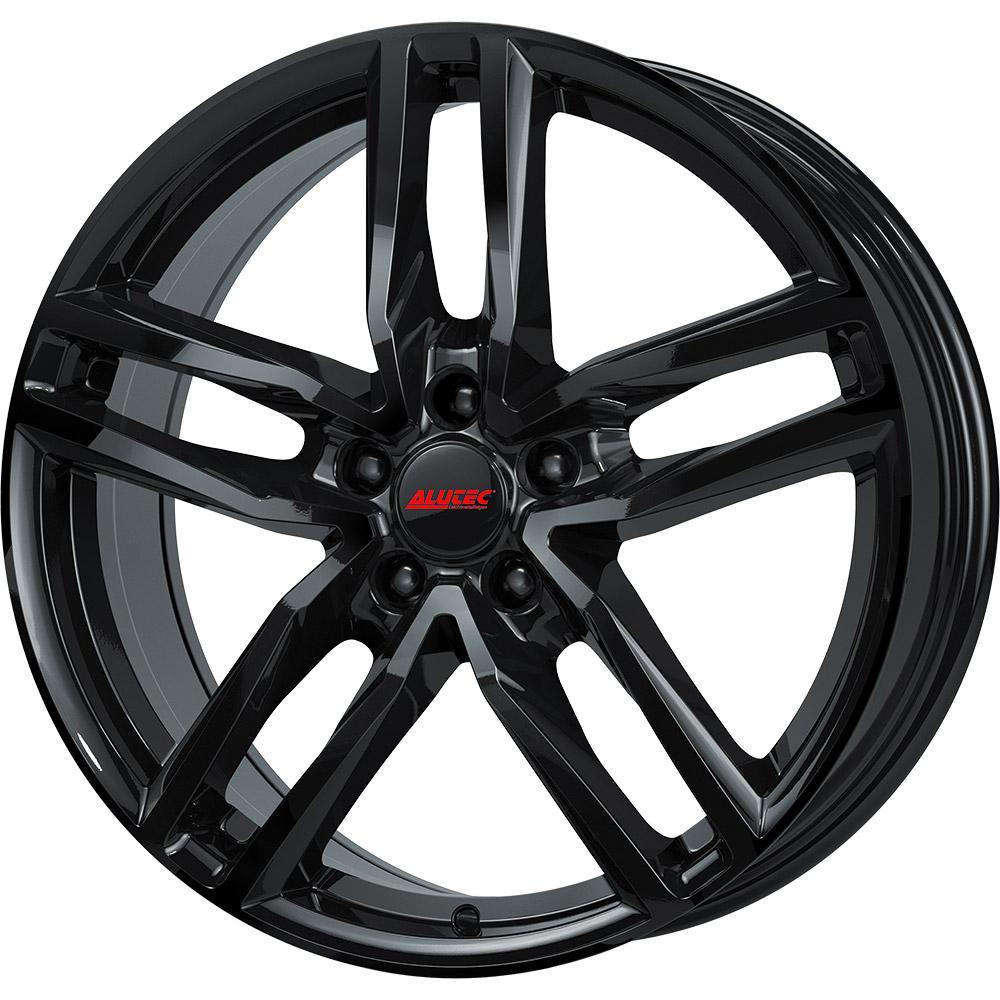 ALUTEC Ikenu hyper silber schwarz Horn poliert Alufelge 6.5xR16 PCD 4x100 ET46 d54.10
