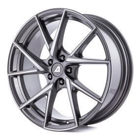 ALUTEC ADX.01 platin front poliert alloy wheel 8.5xR19 PCD 5x108 ET48 d70.10