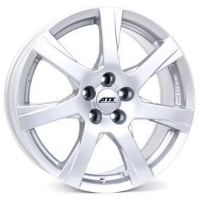 alloy wheel ATS Twister polar silver 15 inches 5x112 PCD ET45 TS65545V21