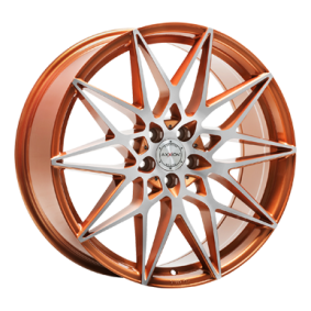 alloy wheel AXXION AX9 copper polished 20 inches 5x114 PCD ET40 17044