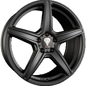 alloy wheel AXXION AX7 MattSchwarz / Poliert 21 inches 5x112 PCD ET42 12147