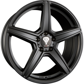 alloy wheel AXXION AX7 Matte black/polished 20 inches 5x112 PCD ET40 12119