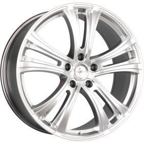 alloy wheel AXXION AX4 hyper silber 19 inches 5x114.3 PCD ET40 10755