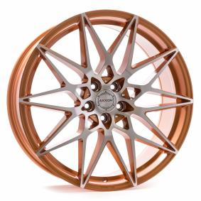 alloy wheel AXXION AX9 copper polished 19 inches 5x108 PCD ET45 17030