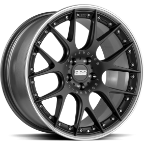 lichtmetalen velg BBS CH-R - CH106 Mat zwart/gepolijst 19 inches 5x120 PCD ET25 0362163#291