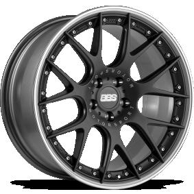 lichtmetalen velg BBS CH-R Mat zwart/gepolijst 18 inches 5x120 PCD ET44 0360416#