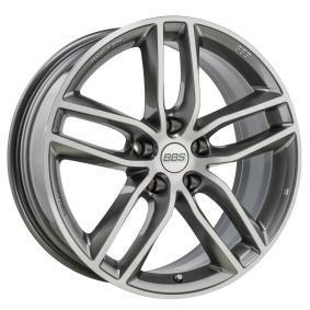 alloy wheel BBS SX titan Front poliert 19 inches 5x112 PCD ET46 10018438