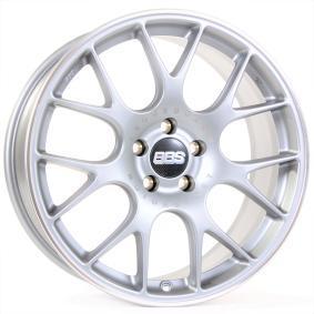 lichtmetalen velg BBS CH-R - CH134 briljant zilver geschilderd 20 inches 5x120 PCD ET31 0361263#381