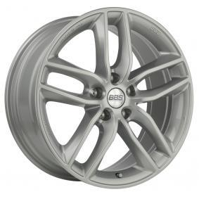 alloy wheel BBS SX brilliant silver painted 17 inches 5x108 PCD ET45 10013629