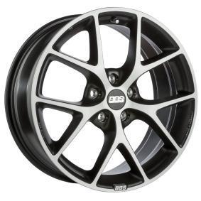 alloy wheel BBS SR titan matt Front poliert 18 inches 5x108 PCD ET42 0360538#