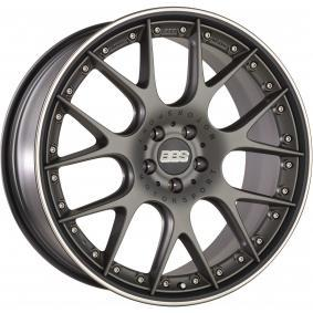 lichtmetalen velg BBS CH-RII platinum schwarz 22 inches 5x112 PCD ET38 10022676