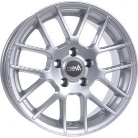 алуминиеви джант DBV брилянтно сребърно боядисани 15 инча 5x110 PCD ET35 30005