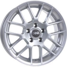 alloy wheel DBV ARIZONA brilliant silver painted 15 inches 5x110 PCD ET35 30005