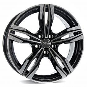 alloy wheel DBV Vienna anthrazit Front poliert 18 inches 5x112 PCD ET30 36451