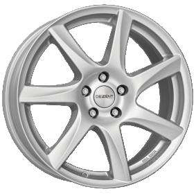 alloy wheel DEZENT TW silver brilliant silver painted 15 inches 5x114.3 PCD ET48 TTWK0SA48