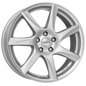 alloy wheel DEZENT TW silver brilliant silver painted 17 inches 5x115 PCD ET44 TTWYUSA44