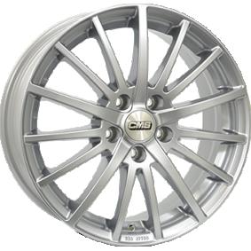 alloy wheel CMS C16 brilliant silver painted 16 inches 5x114 PCD ET40 C16 656 40 10 SR
