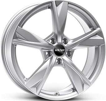 OXXO MIMAS брилянтно сребърно боядисани алуминиеви джант 6,0xR15 PCD 5x114 ET35 d66,1