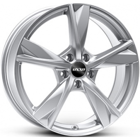 alloy wheel OXXO MIMAS brilliant silver painted 15 inches 5x114 PCD ET35 OX12-601535-N4-07