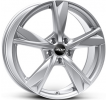 OXXO MIMAS, 15duim, briljant zilver geschilderd, 5-gat, 114mm, lichtmetalen velg OX12-601535-N4-07