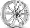 OXXO OBERON 5, 16duim, briljant zilver geschilderd, 5-gat, 105mm, lichtmetalen velg OX08-651638-O5-07
