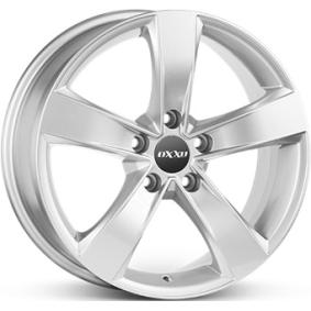 алуминиеви джант OXXO PICTUS брилянтно сребърно боядисани 16 инча 5x115 PCD ET39 RG16-651639-C2-07
