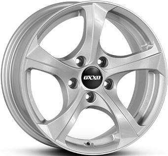 OXXO BESTLA брилянтно сребърно боядисани алуминиеви джант 7,0xR16 PCD 5x120 ET31 d72,6