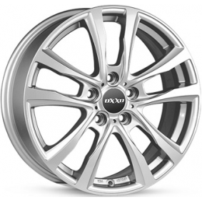 alloy wheel OXXO DECIMUS brilliant silver painted 17 inches 5x114 PCD ET50 RG17-651750-T3-07
