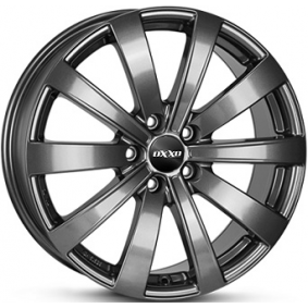 alloy wheel OXXO SENTINEL Antraciet Dunkel 17 inches 5x108 PCD ET50 OX15-701750-X4-04
