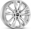 OXXO OBERON 5, 17duim, briljant zilver geschilderd, 5-gat, 108mm, lichtmetalen velg OX08-701752,5-X4-07
