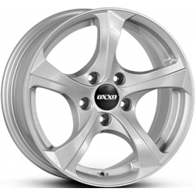 alloy wheel OXXO BESTLA brilliant silver painted 18 inches 5x120 PCD ET34 OX02-801834-B1-07