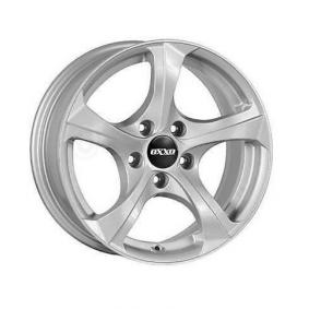 alloy wheel OXXO BESTLA brilliant silver painted 16 inches 5x120 PCD ET34 OX02-701634-B1-07