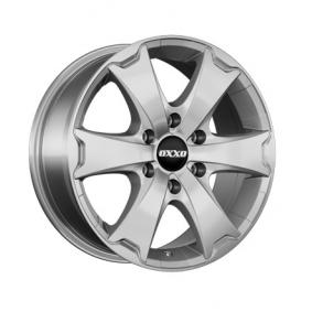 alloy wheel OXXO AVENTURA brilliant silver painted 16 inches 6x114 PCD ET45 OX13-701645-N2-07