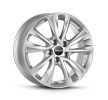 OXXO OBERON 5, 17Inch, brilliant silver painted, 5-Hole, 108mm, alloy wheel OX08-701732-PC-07