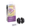 Powerflex Black Series Fronteinbau, Hinterachse beidseitig, Gummimetalllager, Längslenker PFR53608BLK