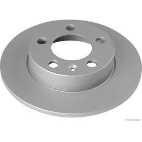 Bremsscheibe Bremsscheibendicke: 9mm, Lochanzahl: 5, Ø: 230mm mit OEM-Nummer 3496009