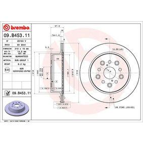 Bremsscheibe Bremsscheibendicke: 16mm, Lochanzahl: 5, Ø: 310mm mit OEM-Nummer 4243150080