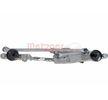 2190893 METZGER Scheibenwischergestänge vorne, für Linkslenker, mit Elektromotor