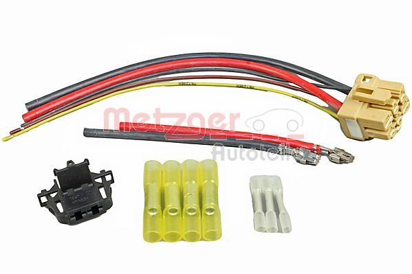 METZGER  2324061 Kabelreparatursatz, Vorwiderstand-Klimalüfter