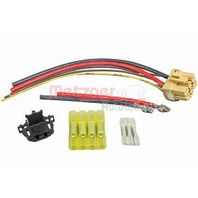 Kabelreparatursatz, Vorwiderstand-Klimalüfter mit OEM-Nummer 3C0907521D