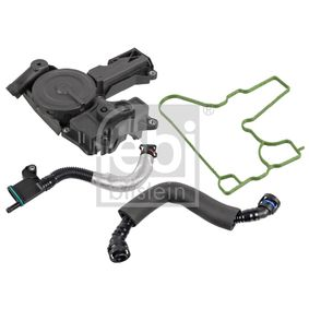 Oil Trap, crankcase breather with OEM Number 06H103495AC