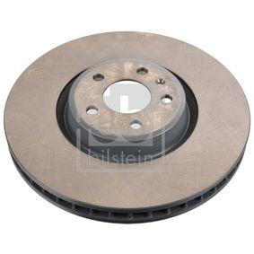 Bremsscheibe Bremsscheibendicke: 34mm, Ø: 349,0mm mit OEM-Nummer 80A 615 301 G